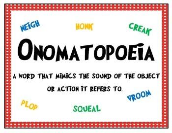 Onomatopoeia (What Sound Does That Make?)