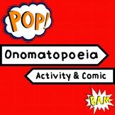 Onomatopoeia Worksheet Comic Activity