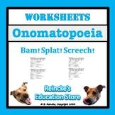 Onomatopoeia Worksheets (5)