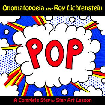 Onomatopoeia after Roy Lichtenstein