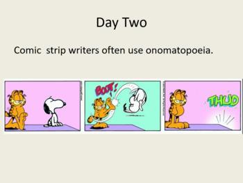 Onomatopoeia and Comics