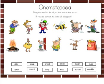 Onomatopoeia for the Smart Board