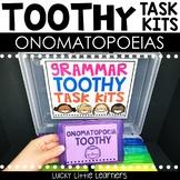 Onomatopoeias Toothy™ Task Kits