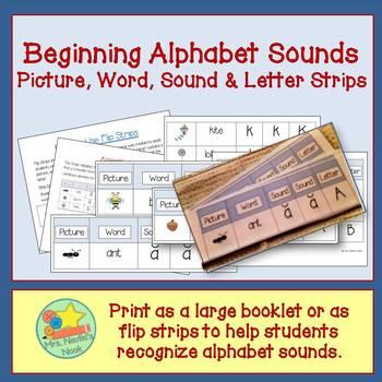Onset Alphabet Sounds Book - Developing Beginning Sounds