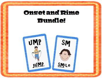 Onset / Rime Card Bundle