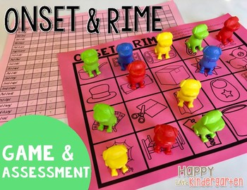 Onset & Rime Game and Assessment