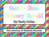 Onset-Rime Memory Match!