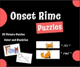Onset Rime Picture Puzzles