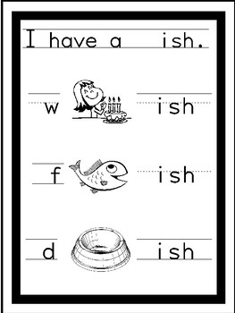 Onset Rime Short Vowels Printable