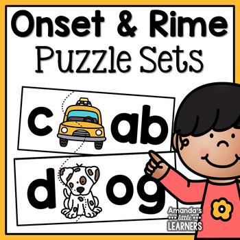 Onset and Rime Puzzles - CVC Words
