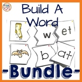 Onset and Rime Build a Word Puzzles- $$ Saving Bundle