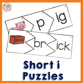 Onset and Rime Build a Word Puzzles- i word families and s