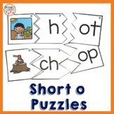 Onset and Rime Build a Word Puzzles- o word families and spelling patterns