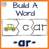 R Controlled Vowel activity or Bossy R Word Activity featuring -ar