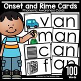 Onset and Rime Cards: Phonemic Awareness