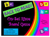 Onset and Rime Game - Race to Read!