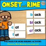 Word Building Onset and Rime Cards