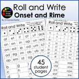 Onset and Rime Roll and Write: Blending and Chunking Words