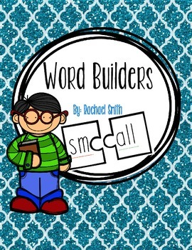 Onset and Rime Word Builders with Blends #digitaldollarspot