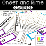 Onset and Rime Word Making Games