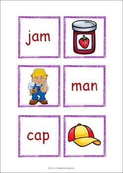CVC Words - Memory Card Game