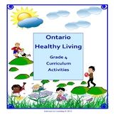 Ontario Healthy Living Grade 4 Curriculum Activities (Revised)