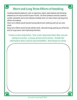 Ontario Healthy Living Grade 4 Curriculum Activities (Revised)