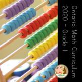 Grade 1 - Ontario Math Curriculum - 2020 Revision