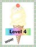 Ontario Achievement Level Posters (Ice-Cream Theme)