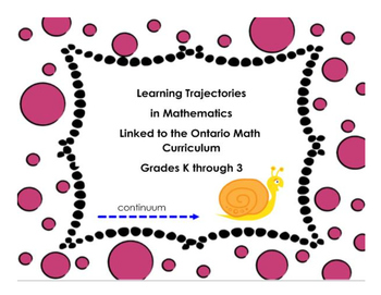 Learning Trajectories in Math Linked to Ontario Math Expectations Gr K to 3