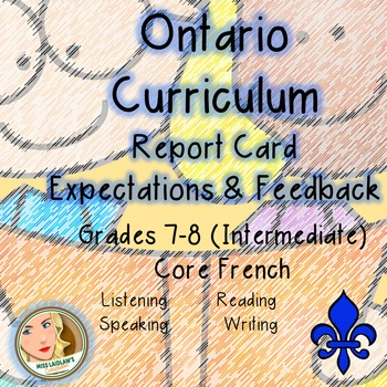 Ontario Curriculum Expectations Checklist - Core French (Intermediate)