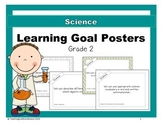 {Grade 2} Science Learning Goal Posters