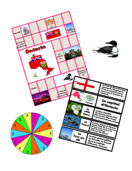 Ontario French Board Game