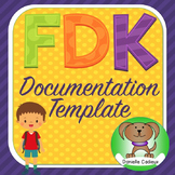 Ontario Full Day Kindergarten Learning Story Documentation