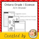 Ontario Grade 1 Science - All 4 Strands Bundle!