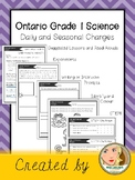 Ontario Grade 1 Science: Daily and Seasonal Changes
