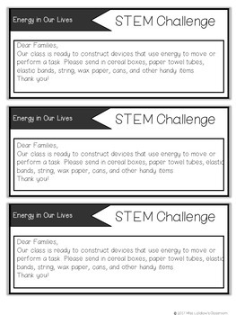 Ontario Grade 1 Science: Energy In Our Lives