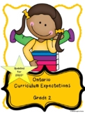 Ontario Grade 2 Curriculum Expectations Checklist