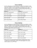 Ontario Grade 3/4 Fitness Self Assessment and Lesson (Free