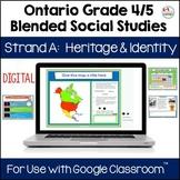 Ontario Grade 4 5 Social Studies Strand A Digital