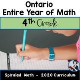 Ontario Grade 4 Entire Year of Math