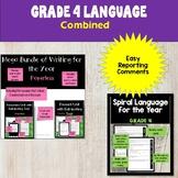 Ontario Grade 4 Language Bundle