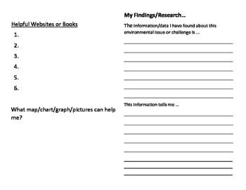 Ontario Grade 4 Social Studies Inquiry booklet for Canada's Regions