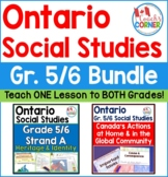 Ontario Grade 5 and 6 Social Studies Mega Bundle
