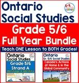 Ontario Grade 5/6 Social Studies Mega-Bundle