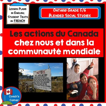Ontario Grade 5/6 Social Studies (FRENCH): Strand B People and Environments