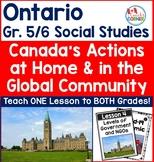 Ontario Grade 5 and 6 Blended Social Studies Strand B Peop