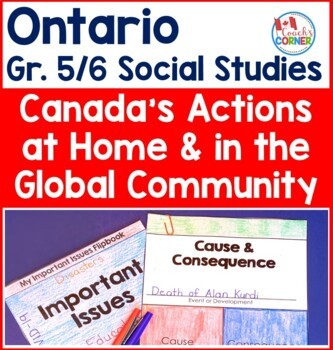 Ontario Grade 5/6 Split Grade Social Studies:  Strand B Pe