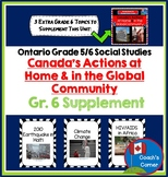 Ontario Grade 5/6 Strand B People & Environments - Grade 6 Supplement