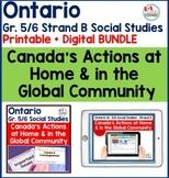 Ontario Grade 5/6 Strand B Printable + Digital BUNDLE